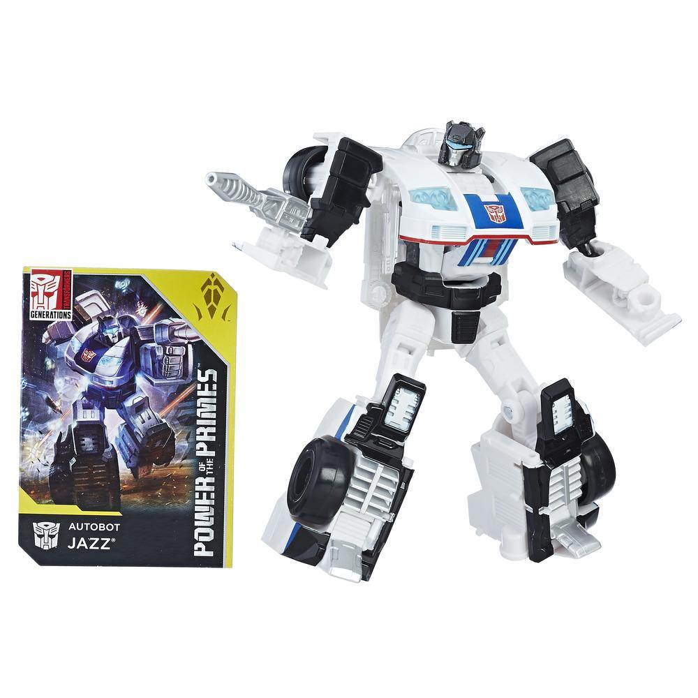 Transformers: Generations - Power of The Primes - Deluxe Class - Autobot Jazz (E1125)