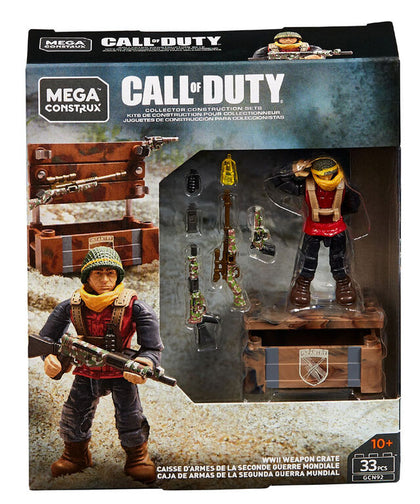 Mega Construx - Call of Duty - WWII Weapon Crate (GCN92) Collector Construction Set