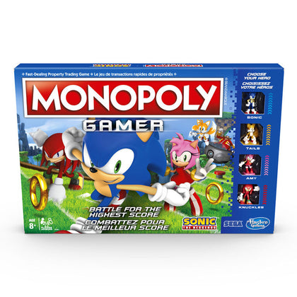 Hasbro Gaming - Monopoly Gamer: Sonic The Hedgehog Edition Board Game