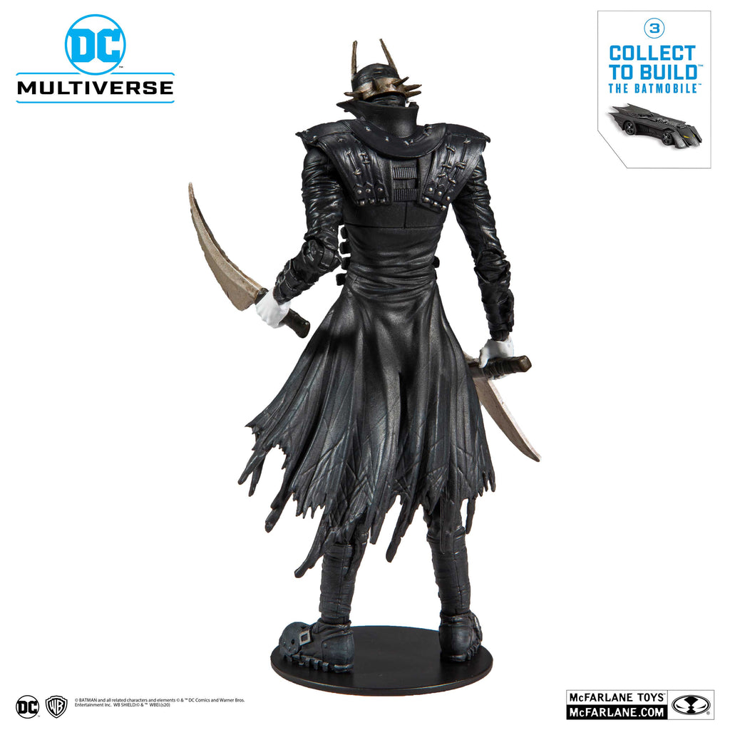 McFarlane Toys - DC Multiverse - The Batmobile BAF - The Batman Who Laughs Action Figure