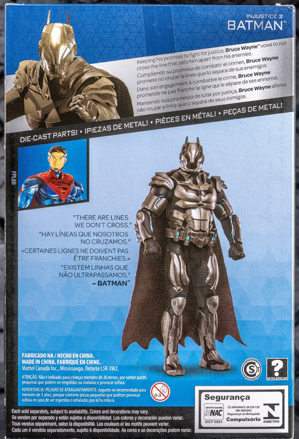Mattel - Platinum Collection - DC Comics Multiverse - Injustice 2 - Batman 6-Inch Metal Action Figure (FPL67)