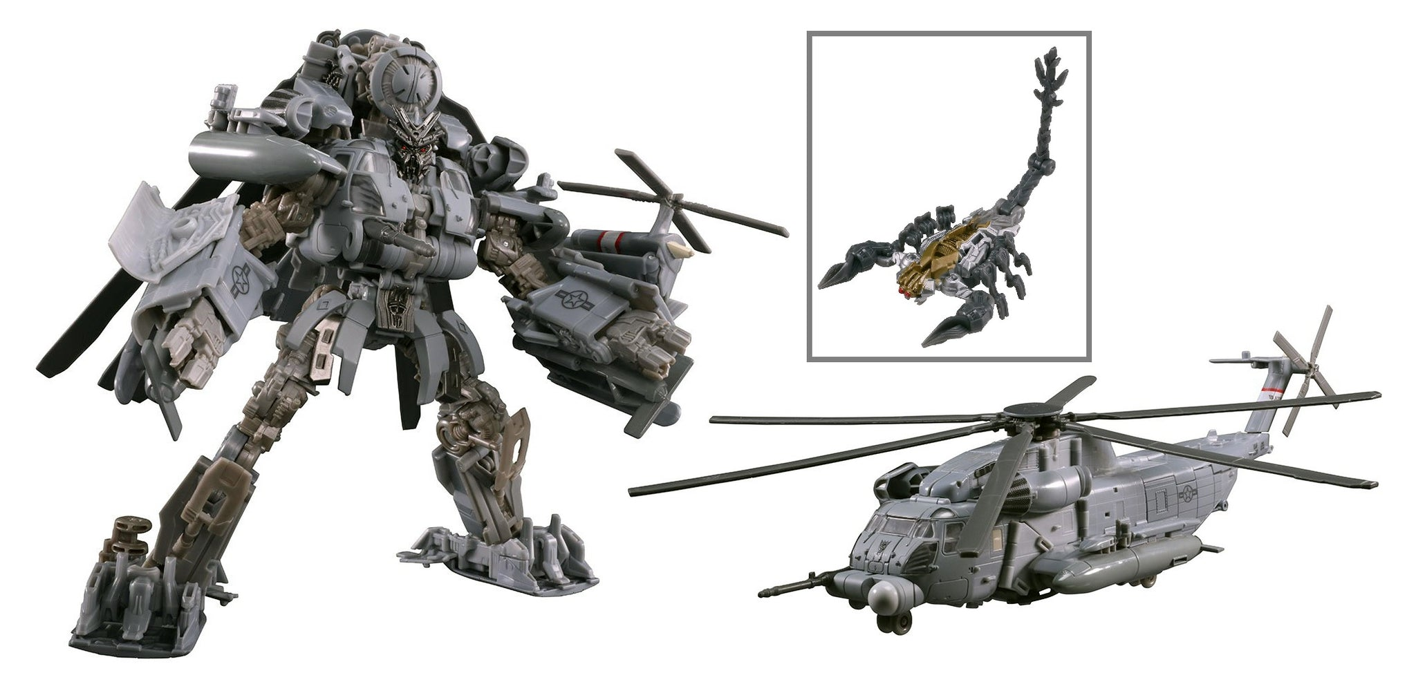 Transformers - Studio Series 08 - Leader Class - Movie 1 - Decepticon 8.5-inch Blackout and Scorponok Action Figures (E0980)