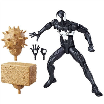Marvel Legends - Sandman BAF - Amazing Spider-Man - Symbiote (Black Suit) Spider-Man