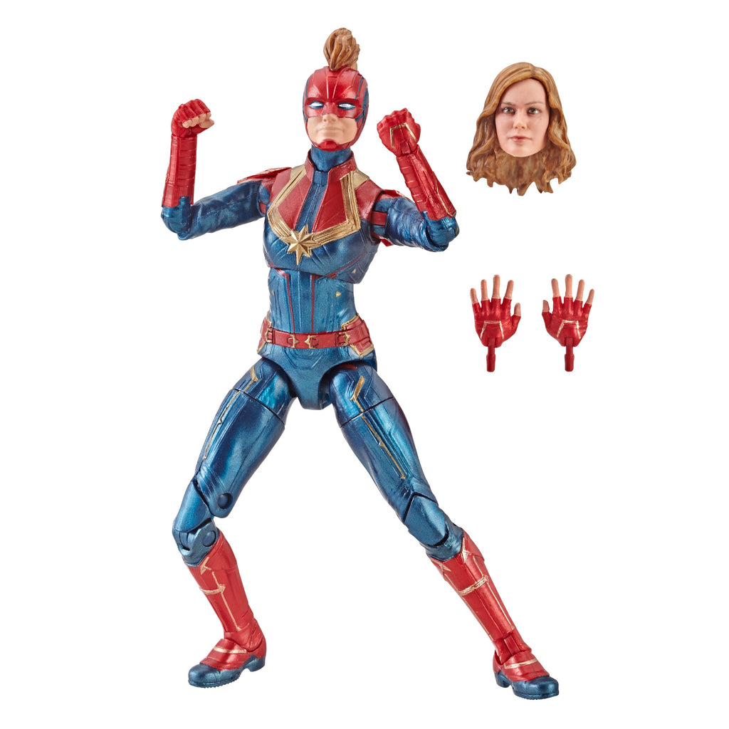 Hasbro - Marvel Legends - Captain Marvel - Kree Sentry BAF - Carol Danvers' Suit Figure (E3885)