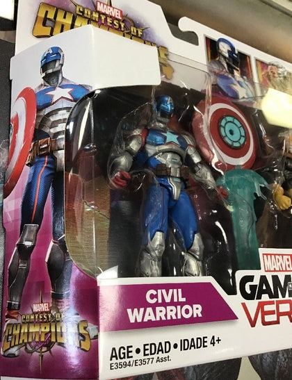 Hasbro - Marvel Gamerverse - Contest of Champions - Civil Warrior + The Collector (E3594)