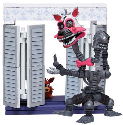 McFarlane Construction Set - Five Nights at Freddy's - The Closet + Nightmare Mangle Figure (12037)