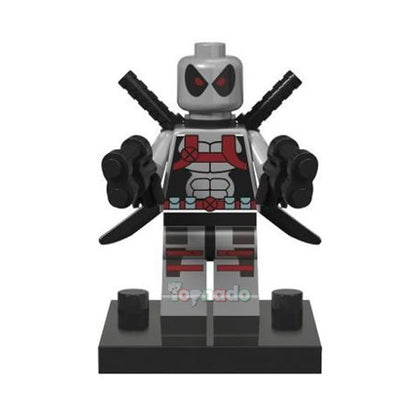 Marvel - Comic Universe - Deadpool (Grey Suit) Minifigure