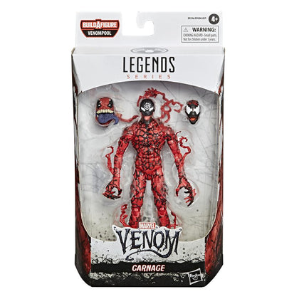 Marvel Legends - Venompool BAF - Venom - Carnage Action Figure (E9336)