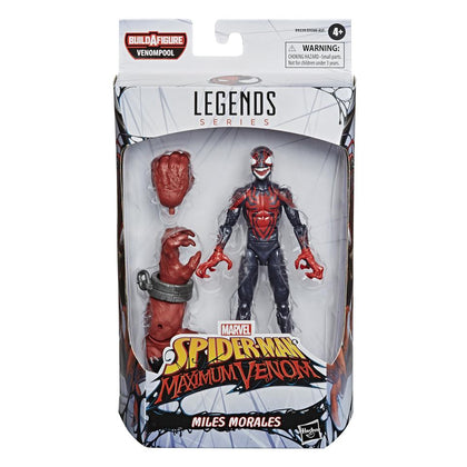 Marvel Legends - Venompool BAF - Spider-Man Maximum Venom - Miles Morales Action Figure (E9339)