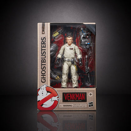 Ghostbusters 1984 - Plasma Series - Terror Dog Build-A-Ghost - Peter Venkman Action Figure (E9796)