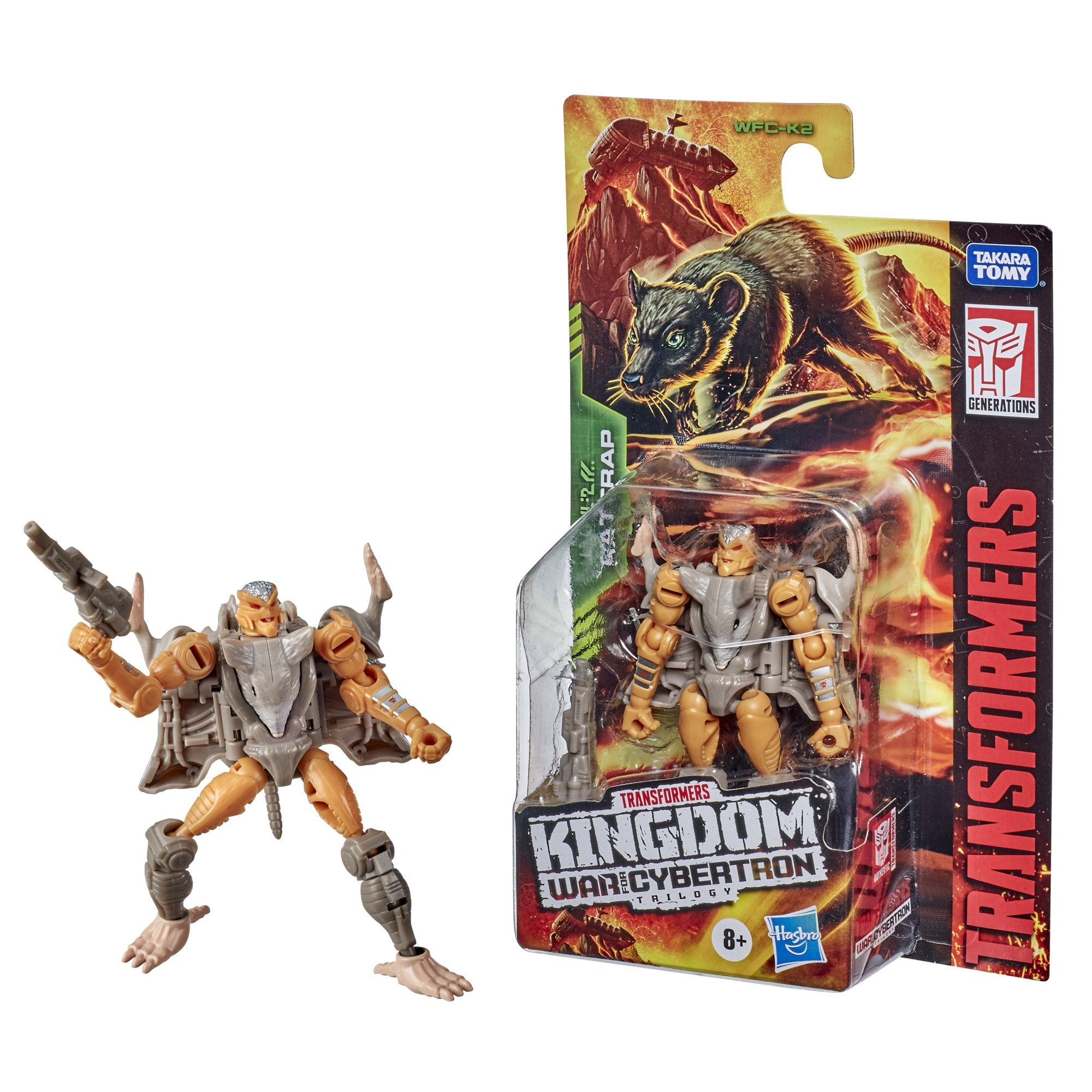 Transformers - War for Cybertron: Kingdom - Core Rattrap (WFC-K2) Action Figure