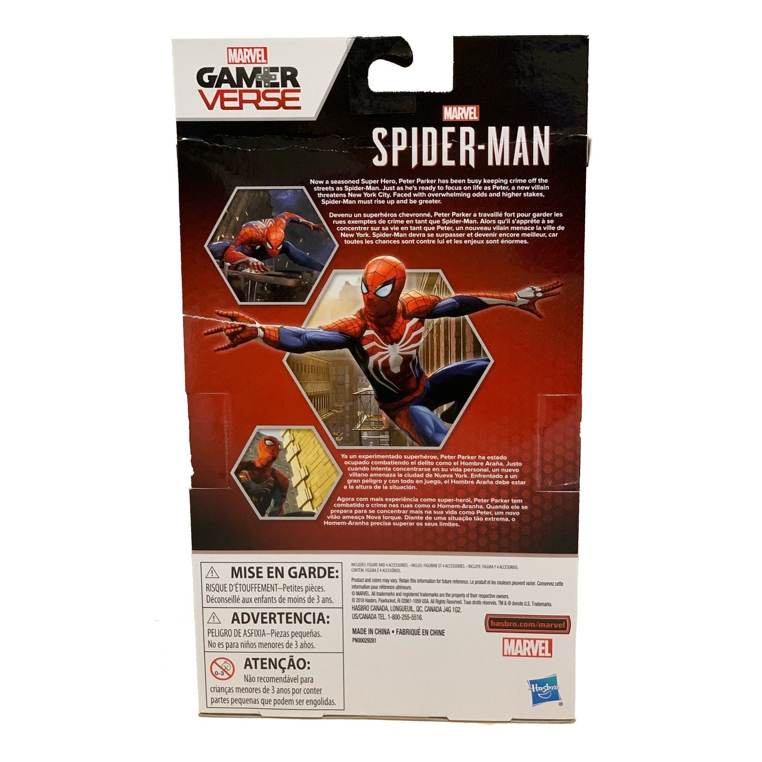 Hasbro - Marvel Legends - Gamerverse - Spider-Man Figure (E5072)