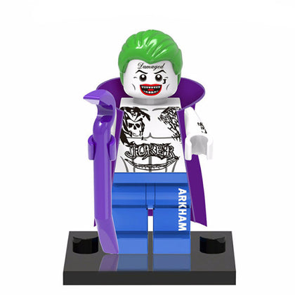 DC Universe - Suicide Squad - The Joker (with Cape) Custom Minifigure