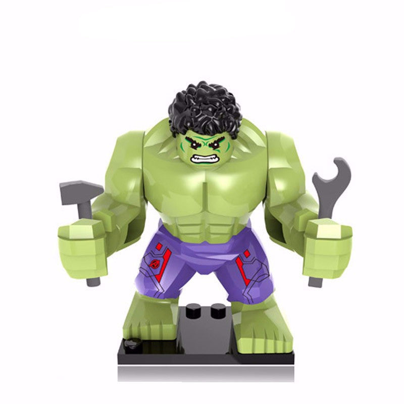 Marvel - Avengers - The Hulk (Full Size) Custom Minifigure