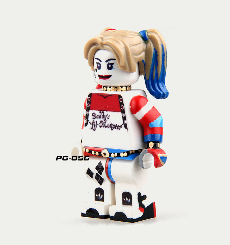 DC Universe - Suicide Squad - Harley Quinn (Outfit 2) Custom Minifigure