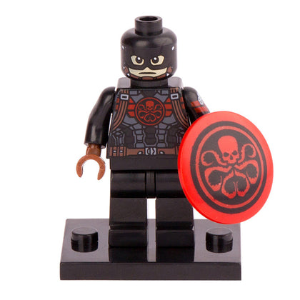 Marvel - Comic Universe - Hydra Agent Captain America Custom Minifigure