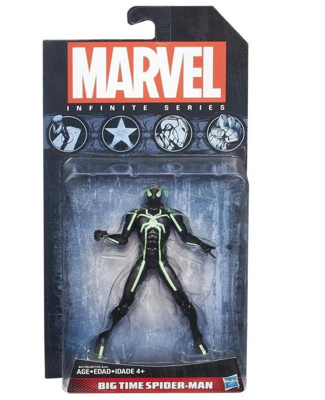Marvel Infinite - 2015 - Wave 1 - Big Time Spider-Man - 3.75 in