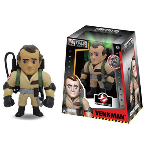 Metals Die Cast - Ghostbusters - Venkman (M70) 4-Inch Metal Figure