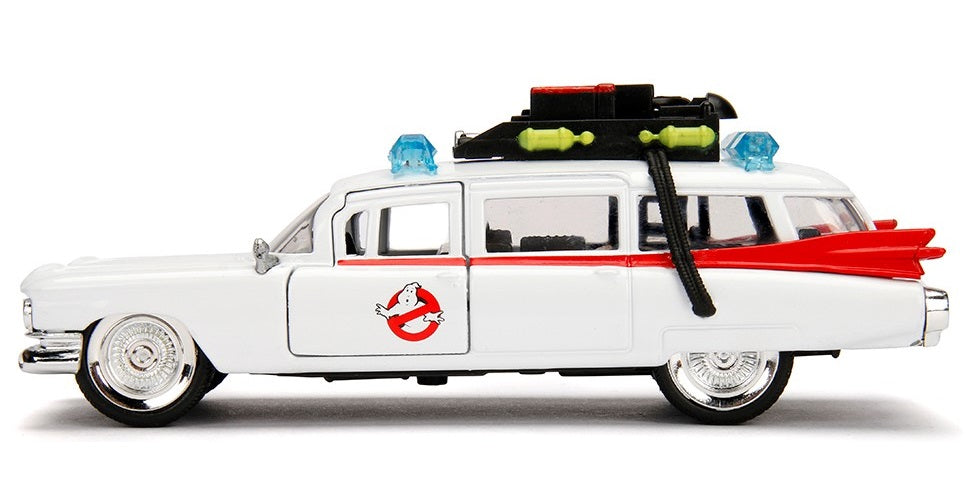Jada - Hollywood Rides - Metals Die-Cast - Ghostbusters - Ecto-1 - 1959 Cadillac Ambulance 1:32 Toy Vehicle (24078 JA99541)