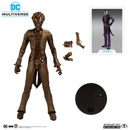 McFarlane Toys - DC Multiverse - The Joker (Batman: Arkham Asylum) Platinum Edition Action Figure