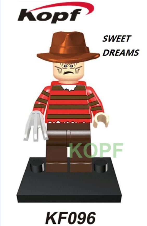 Horror Legends - Freddy Krueger Custom Minifigure