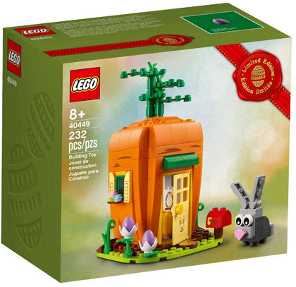 LEGO Promotional - Easter Bunny's Carrot House Building Toy (40449) Exclusive