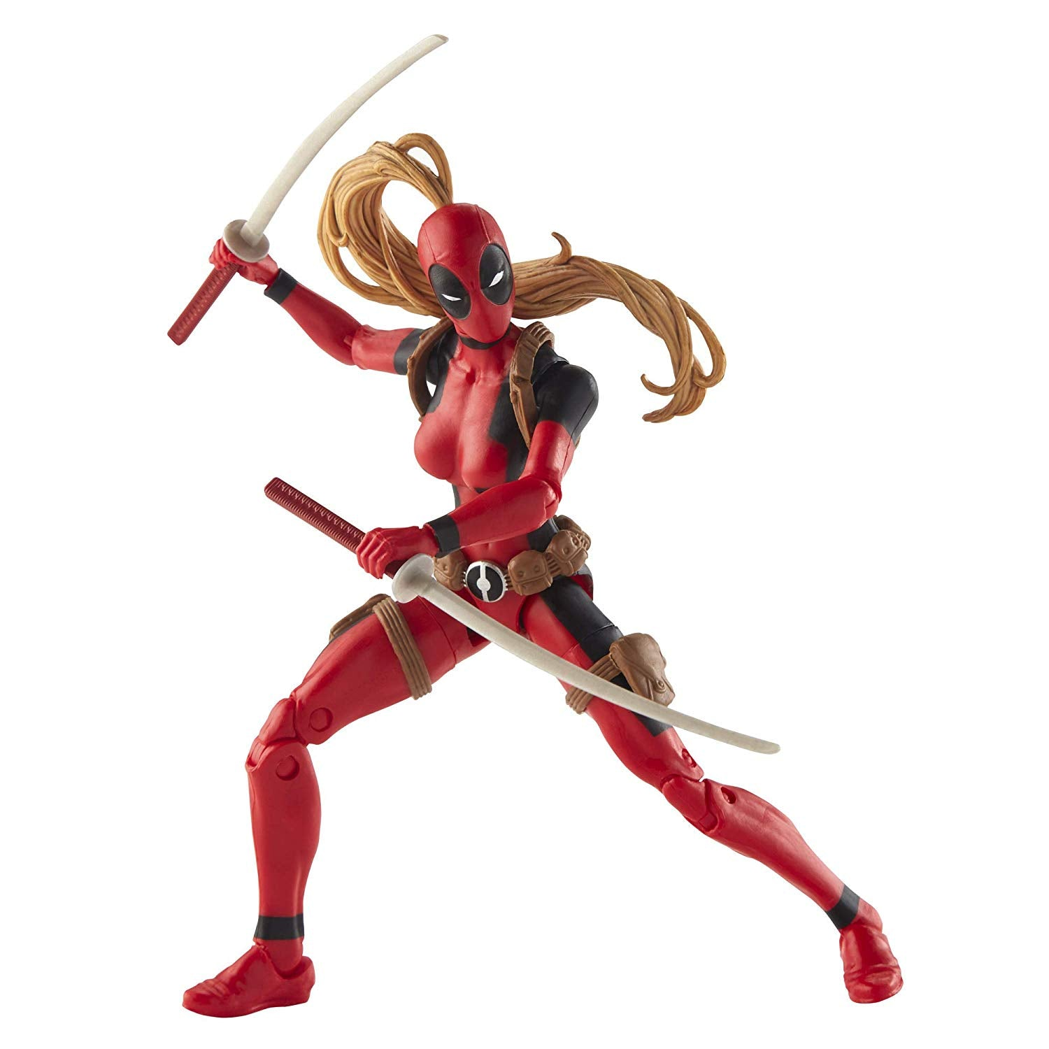 Hasbro - Marvel Legends - Dr. Karl Lykos (Marvel's Sauron) BAF - Deadpool - Lady Deadpool Figure (E2923)