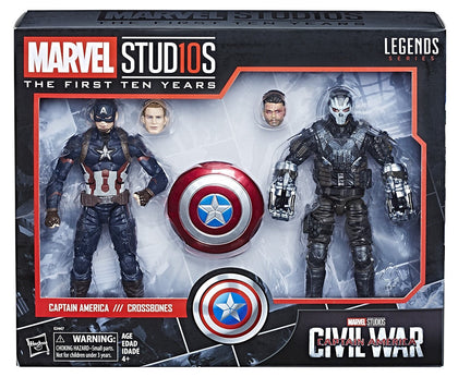 Hasbro - Marvel Legends - Marvel Studios First Ten 10 Years #9 - Captain America + Crossbones (E2447)