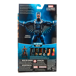 Hasbro - Marvel Legends - Okoye BAF - Inhumans - Marvel's Black Bolt Figure (E1575)