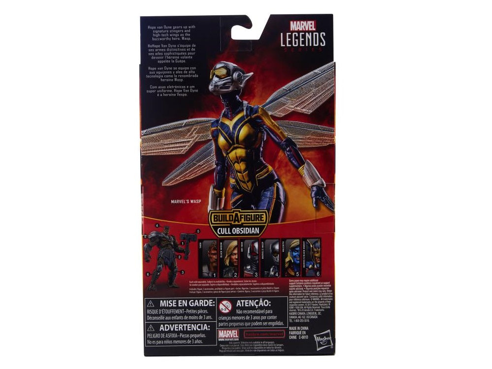Hasbro - Marvel Legends - Cull Obsidian BAF - Ant-Man and Wasp - Marvel's Wasp, Hope van Dyne (E1582)