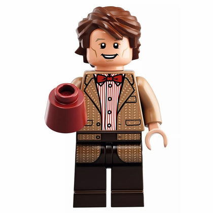 BBC TV - Doctor Who - 10th Doctor (Matt Smith + Fezz) Custom Minifigure