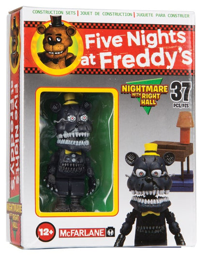 McFarlane Micro Set - Five Nights at Freddy's Nightmare Figure with Right Hall (12666)