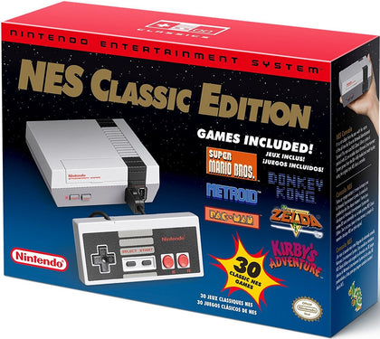 NES Nintendo Entertainment System Classic Mini Edition Console + 30 Games + Controller