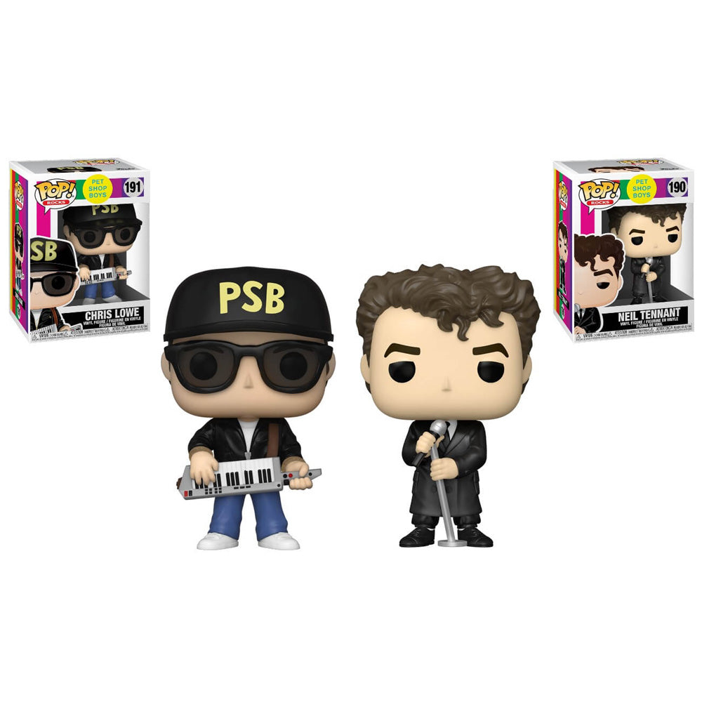 Funko Pop! Rocks Bundle (#190-191) - Pet Shop Boys - 3pk Vinyl Figures