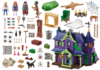 Playmobil - Scooby-Doo! - Adventure in the Mystery Mansion (70361) Play Set