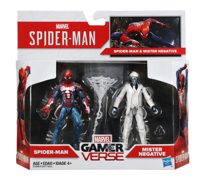 Hasbro - Marvel Gamerverse - Spider-Man + Mister Negative (E3596)