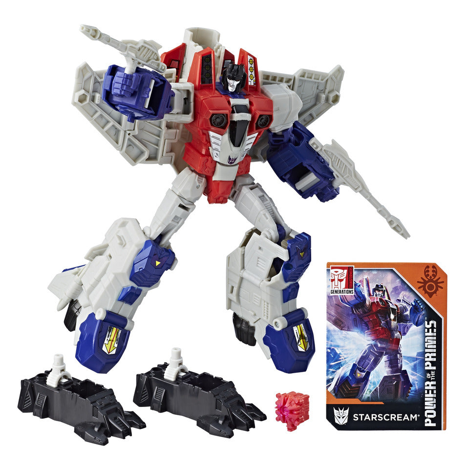 Transformers: Generations - Power of The Primes - Voyager Class - Starscream (E1137)