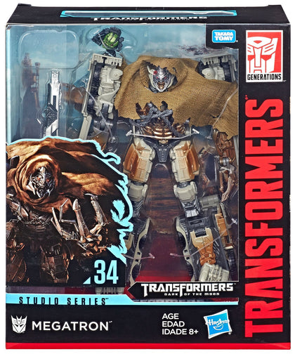 Transformers - Studio Series 34 - Leader Class - Dark of the Moon - 8.5-inch Megatron and Igor Action Figures (E3750)