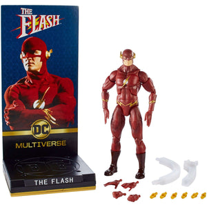 Mattel - Signature Collection - DC Comics Multiverse - The Flash 1990 TV Series - The Flash 6-Inch Action Figure (FPC17)