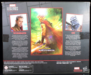 Hasbro - Marvel Legends / Studios / 80th Anniversary - Thor: Ragnarok - The Grandmaster + Korg (E6343)