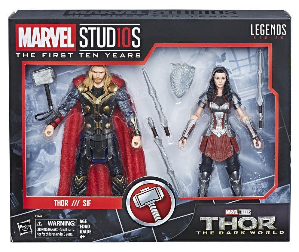 Hasbro - Marvel Legends - Marvel Studios First Ten Years #5 - Dark World Thor + Lady Sif (E2448)