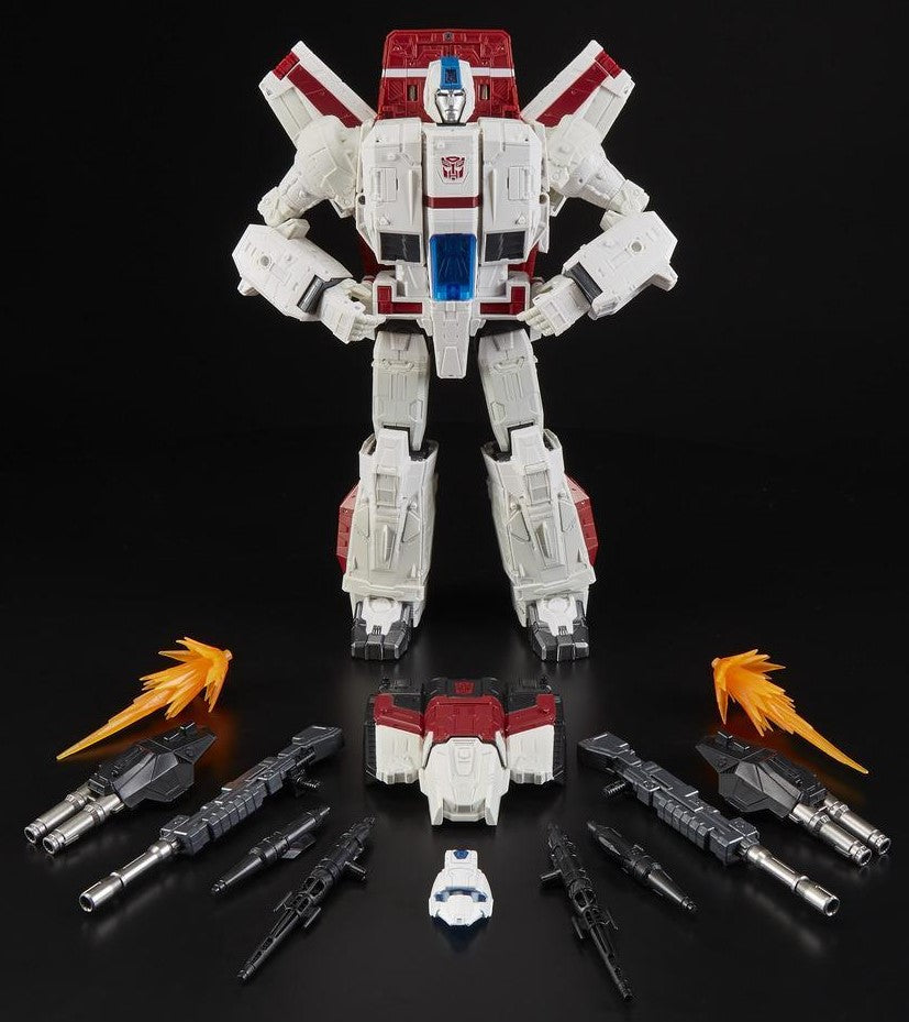 Hasbro - Transformers - Generations - War for Cybertron: SIEGE - Commander Class - WFC-S28 Jetfire Action Figure (E4824)