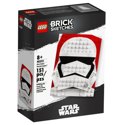LEGO Brick Sketches - Star Wars - First Order Stormtrooper (40391) Building Toy