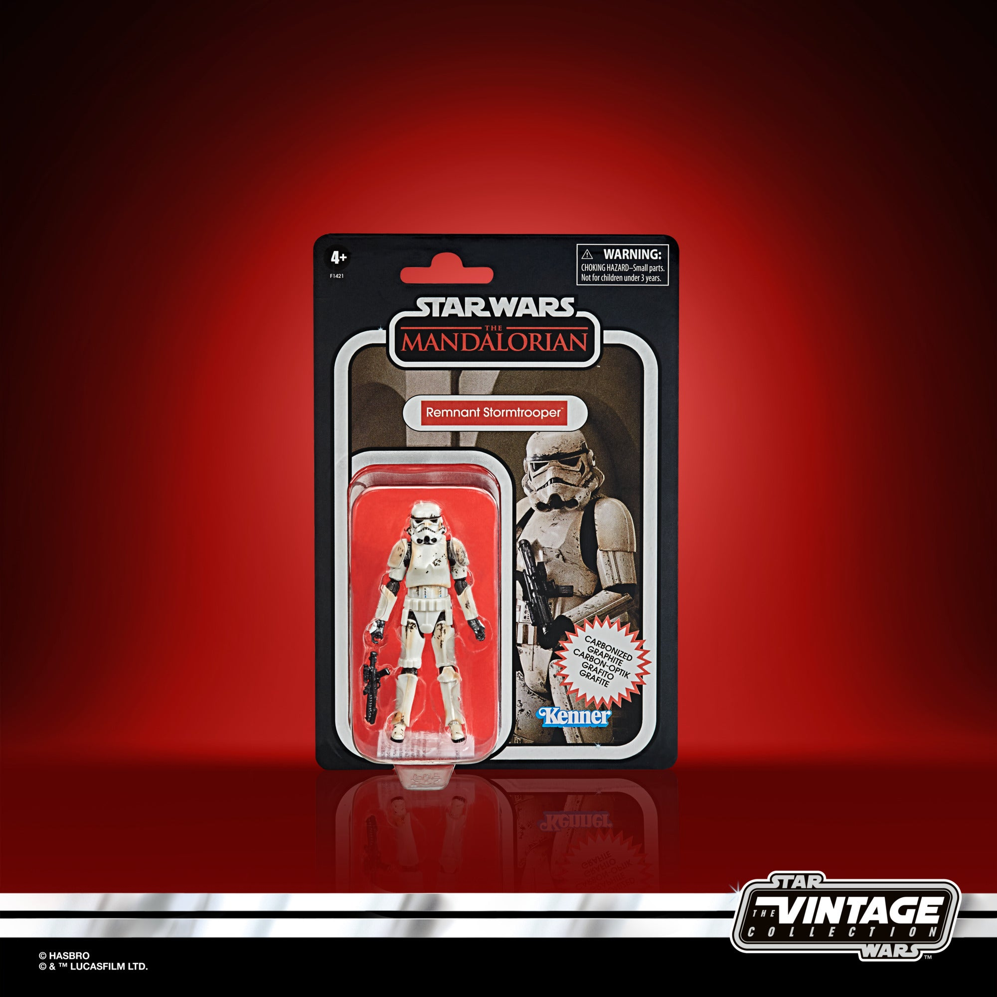 Star Wars: The Vintage Collection - The Mandalorian - Remnant Stormtrooper Carbonized Exclusive (F1421)