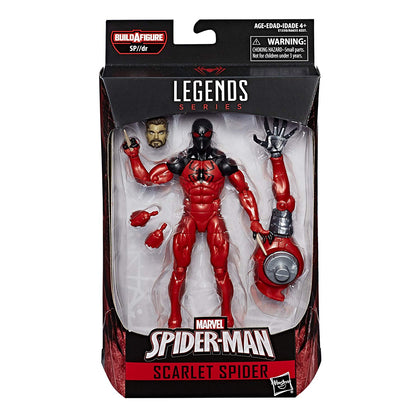 Marvel Legends - SP//dr BAF - Spider-Man - Scarlet Spider (Kaine Parker) Action Figure (E1350)