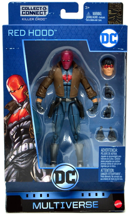 Mattel - DC Multiverse - Killer Croc Series - DC Rebirth Red Hood (Jason Todd) 6-inch Action Figure