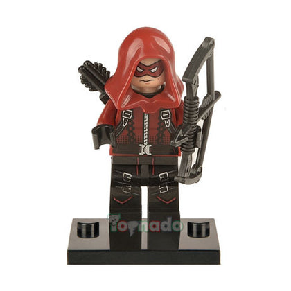 DC Universe - Arrow TV Series - Red Arrow / Arsenal (Roy Harper) Custom Minifigure