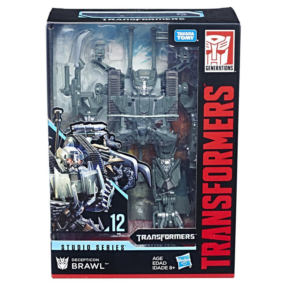 Transformers - Studio Series 12 - Transformers Movie - Brawl (E0772)