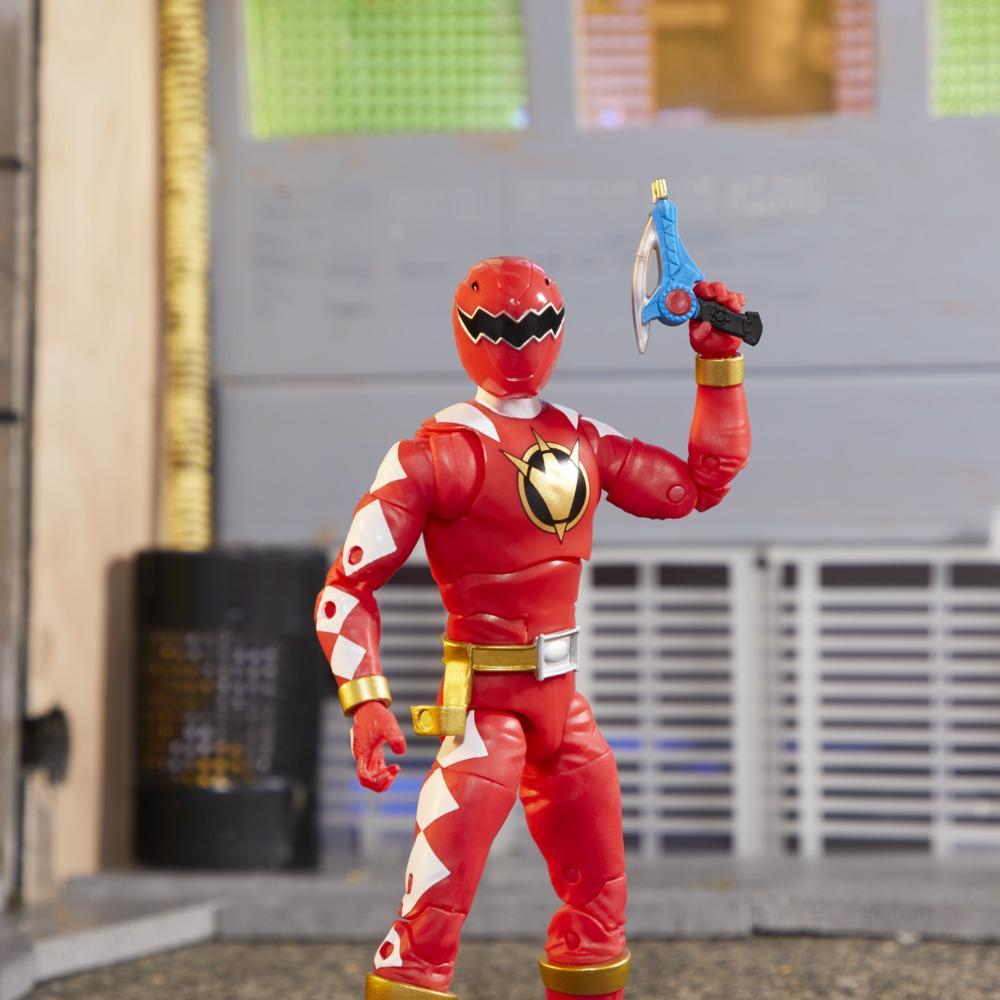 Power Rangers Lightning Collection - Dino Thunder Red Ranger Action Figure (E8965)