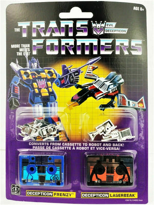 Hasbro - Transformers Vintage G1 Reissue - Decepticon Frenzy and Laserbeak (E5619)